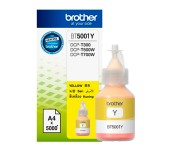 Refil Tinta Brother BT5001Y amarelo CX 01 UN