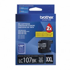Cartucho Original Brother LC107BK preto CX 01 UN