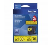 Cartucho Original Brother LC105Y amarelo CX 01 UN