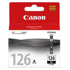 Cartucho Original Canon CLI-126BK preto - 9ml - CX 01 UN