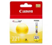 Cartucho Original Canon CLI-221Y amarelo - 9ml - CX 01 UN