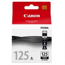 Cartucho Original Canon PGI-125BK preto - 19ml - CX 01 UN
