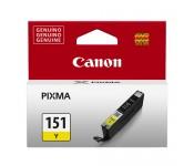 Cartucho Original Canon CLI-151Y amarelo - 7ml - CX 01 UN