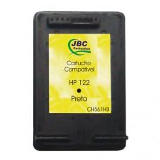 Cartucho Compatível HP 122 preto - 05ml - CX 01 UN