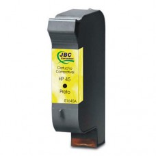 Cartucho Compatível HP 45 preto - 40ML - CX 01 UN