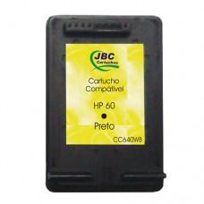 Cartucho Compatível HP 60 preto - 6ml - CX 01 UN