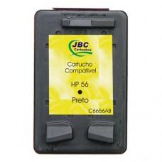 Cartucho Compatível HP 56 preto - 20ml - CX 01 UN