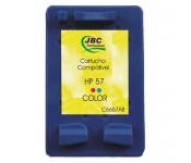 Cartucho Compatível HP 57 color - 14ml - CX 01 UN
