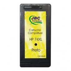 Cartucho Compatível HP 74XL preto - 25ml - CX 01 UN