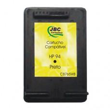 Cartucho Compatível HP 94 preto - 12ml - CX 01 UN