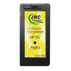 Cartucho Compatível HP 96 preto - 22ml - CX 01 UN