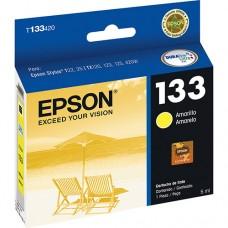Cartucho Original Epson T133420 amarelo CX 01 UN