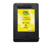 Cartucho Compatível HP 122XL preto - 15ml - CX 01 UN