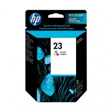 Cartucho Original HP 23 colorido - 30ml - CX 01 UN