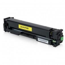Toner Compatível HP CF402A amarelo CX 01 UN