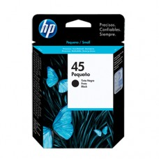 Cartucho Original HP 45 preto - 21ml - CX 01 UN