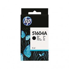 Cartucho Original HP 51604A preto - 3ml - CX 01 UN