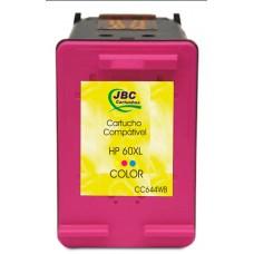 Cartucho Compatível HP 60XL color - 15ml - CX 01 UN