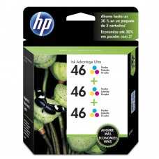 Cartucho Original HP 46 color triplo - 16ml cada - CX 03 UN