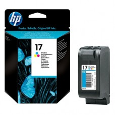 Cartucho Original HP 17 colorido - 15ml - CX 01 UN