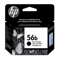 Cartucho Original HP 56B preto every day - 19ml - CX 01 UN