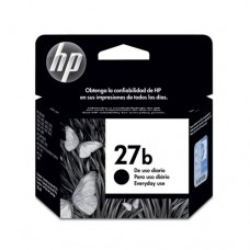 Cartucho Original HP 27B preto every day - 11ml - CX 01 UN
