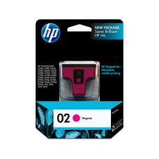 Cartucho Original HP 02 magenta - 3,5ml - CX 01 UN