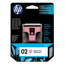 Cartucho Original HP 02 magenta claro - 5,5ml - CX 01 UN