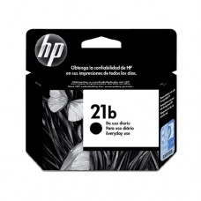 Cartucho Original HP 21B preto every day - 7ml - CX 01 UN