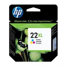 Cartucho Original HP 22XL colorido - 11ml - CX 01 UN