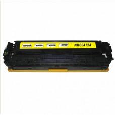 Toner Compatível HP CE412A amarelo CX01 UN