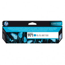 Cartucho Original HP 971 ciano - 34,5ml - CX 01 UN