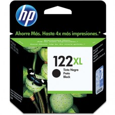 Cartucho Original HP 122XL preto - 8,5ml - CX 01 UN
