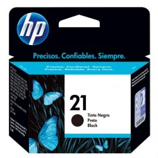 Cartucho Original HP 21 preto - 7ml - CX 01 UN