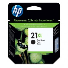Cartucho Original HP 21XL preto - 16ml - CX 01 UN