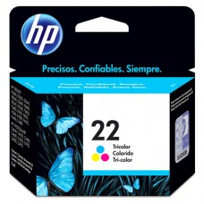 Cartucho Original HP 22 colorido - 6ml - CX 01 UN