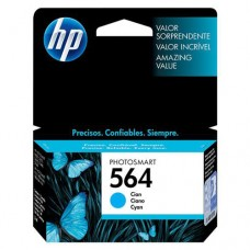 Cartucho Original HP 564 ciano - 3,5ml - CX 01 UN