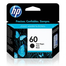 Cartucho Original HP 60 preto - 4,5ml - CX 01 UN