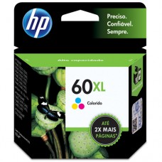 Cartucho Original HP 60XL colorido - 15,5ml - CX 01 UN