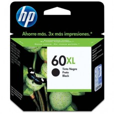 Cartucho Original HP 60XL preto - 13,5ml - CX 01 UN