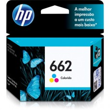 Cartucho Original HP 662 colorido - 2ml - CX 01 UN
