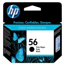 Cartucho Original HP 56 preto - 19,5ml - CX 01 UN