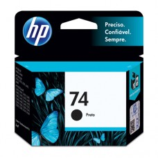 Cartucho Original HP 74 preto - 6ml - CX 01 UN