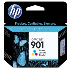 Cartucho Original HP 901 colorido - 13ml - CX 01 UN