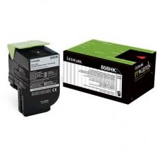 Toner Original Lexmark 80C8HK0 preto CX 01 UN