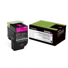 Toner Original Lexmark 80C8SM0 magenta CX 01 UN
