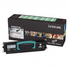 Toner Original Lexmark E352H11B preto CX 01 UN