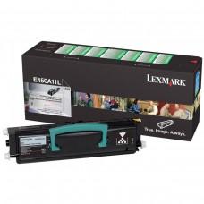 Toner Original Lexmark E450A11L preto CX 01 UN