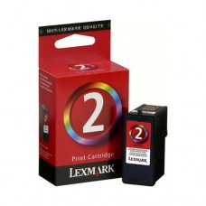 Cartucho Original Lexmark 2 - 18C0190 colorido CX 01 UN