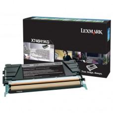 Toner Original Lexmark X746H1KG preto CX 01 UN